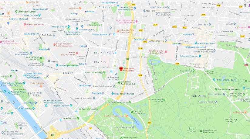 map Alain Mimoun